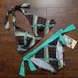 Hobie Tie Side Hipster Bikini NWT Size Medium
